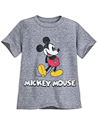 Mickey Mouse Classic T-Shirt for Boys - Gray Multi