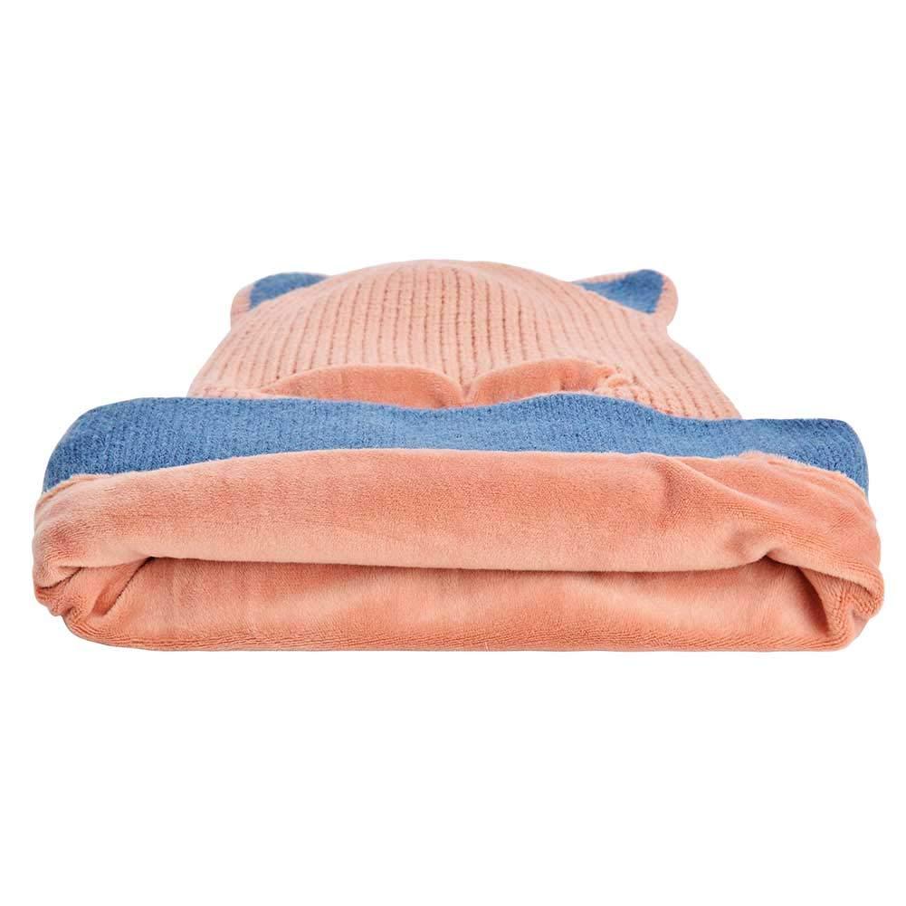 B07XYCCRF3 Toddlers Girls Boys Winter Scarf Shawl Hat Warm Knit Face Cover Balaclava 71QKuJAc2BtL