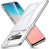 ESR Essential Zero Slim Clear Soft TPU Case Compatible with The Samsung Galaxy S10 Plus, Soft Flexible Silicone Cover - Jelly Clear