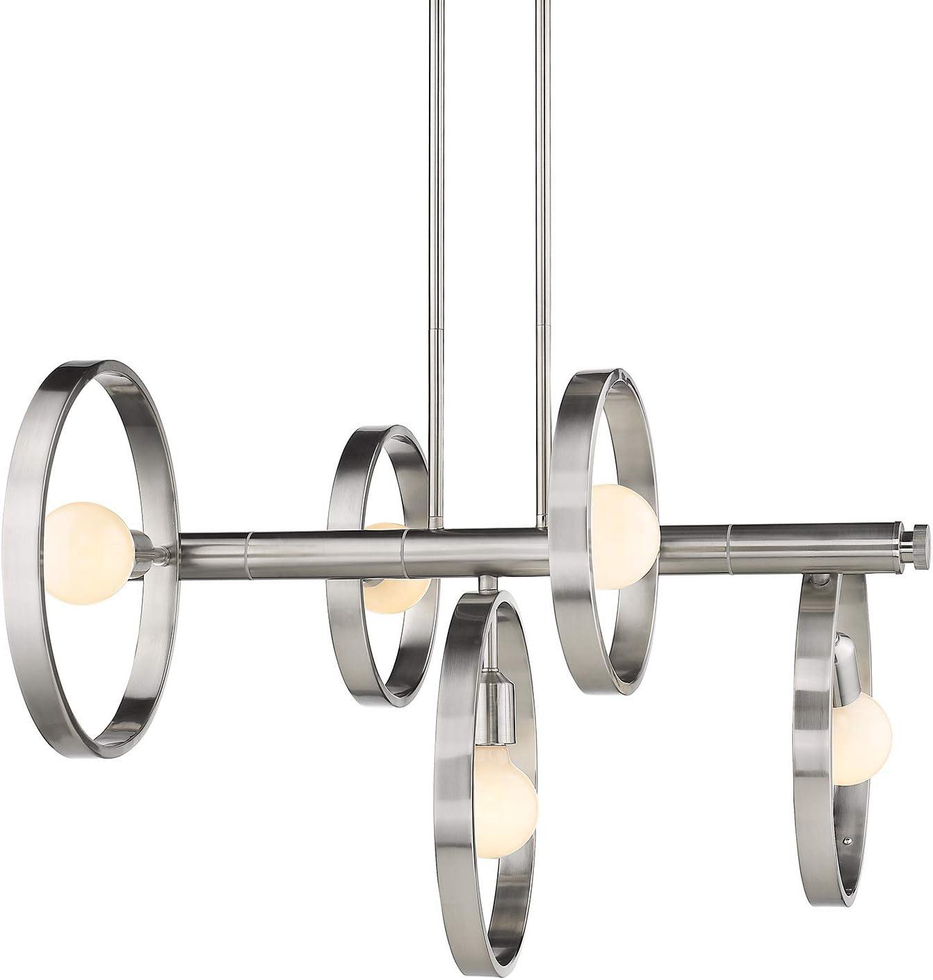 Pewter Golden Lighting 8330-LP PW Sloane Linear Pendant