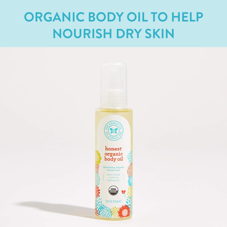 Does baby oil make your hair grow? Honest organic body oil