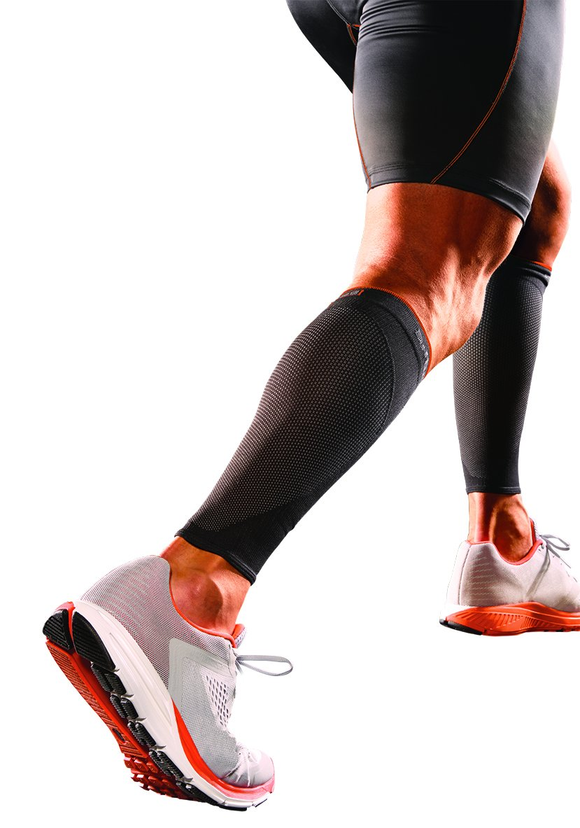 Shock Doctor SVR Recovery Compression Calf Sleeve, Black, Adult-Small by Shock Doctor