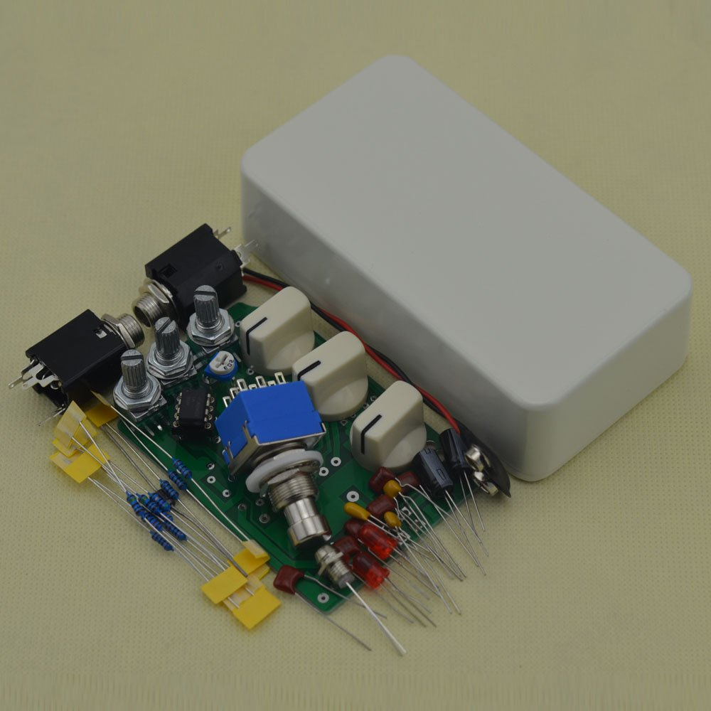 DIY Distortion Guitar Pedal All kits DS-1 Effects Stompbox Kit White No Holes