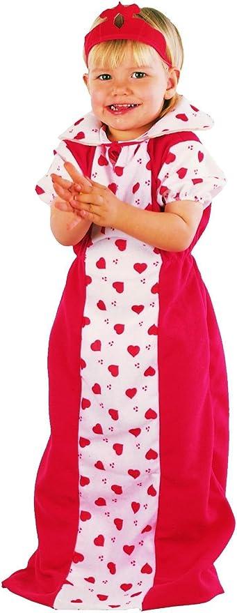 Disfraz Reina Corazones niña Talla de 2 a 3 años - Alicia en el ...