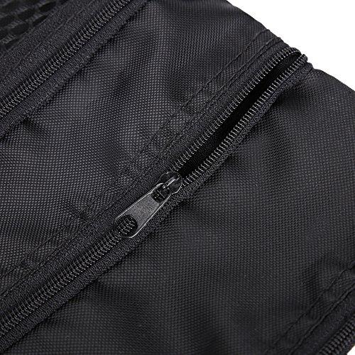 GOTOTOP Multi-Pocket Golf Bag Golf Ball Black Zipper Handbag Bag Useful Golf Ball Handbag Golf Accessories Bag(19 15.5cm / 7.5 6.1inch) by GOTOTOP (Image #1)