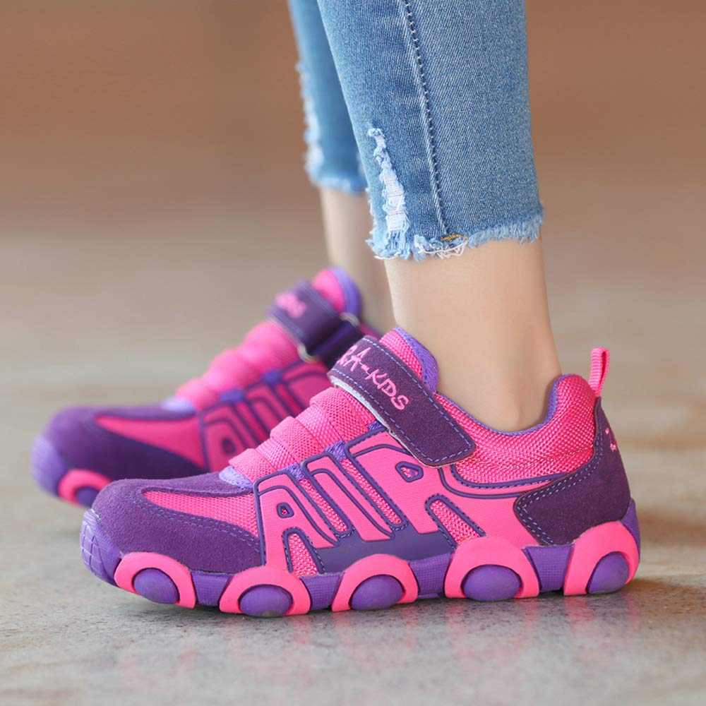 O.T.Sea Boys Girls Casual Strap Light Weight Sneakers Running Shoes Toddler//Little Kid//Big Kid