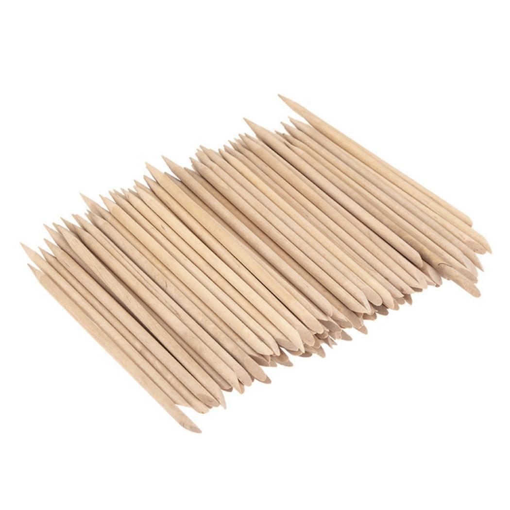 Goldenfox New Women Multifunction Nail Stick Exfoliating Scrub Clean Nail Polish Tools Cuticle Pushers