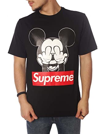 SUPREME ITALIA Men's T-Shirt black black Small