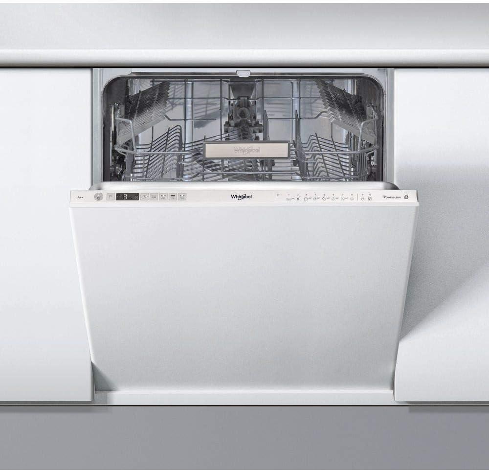 Whirlpool WIO 3T122 PS lavavajilla Totalmente integrado 14 ...