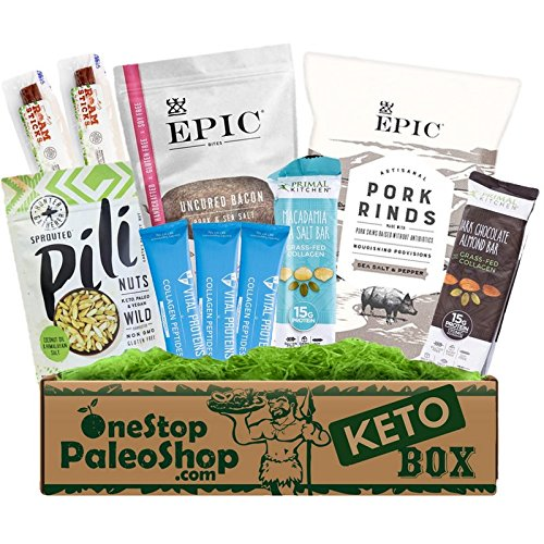 OneStopPaleoShop - Keto Snacks Box - Epic, Vital Proteins, Primal Kitchen, Pili Nuts, and MORE!