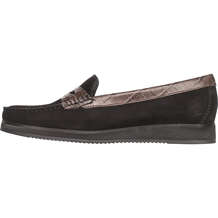Amazon.com | Marc Joseph New York Womens Chambers St Closed Toe Loafers | Loafers & Slip-Ons