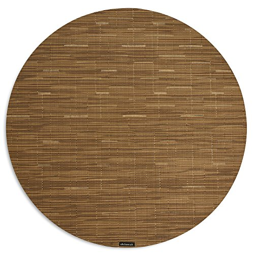 - Bamboo Table Mat 15 Round-Camel