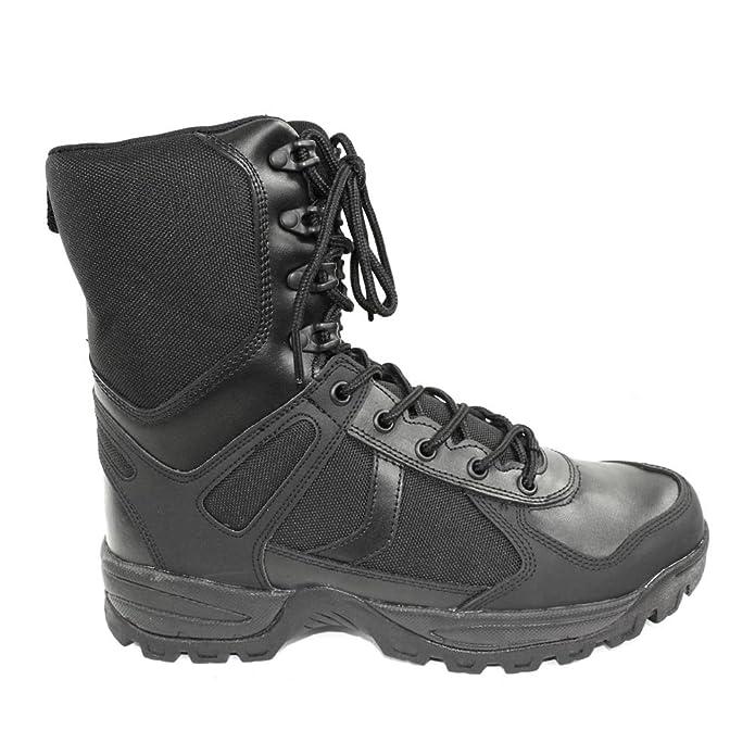 Mil-Tec Stiefel Patrol m. YKK Zipper schwarz (43/US 10): Amazon.de: Schuhe  & Handtaschen