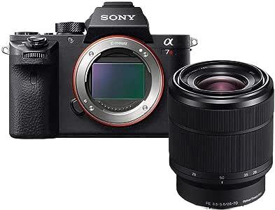 Sony a7R II + 28-70mm F3.5-5.6 OSS Zoom Lens Bundle, Black (ILCE7RM2K/B)