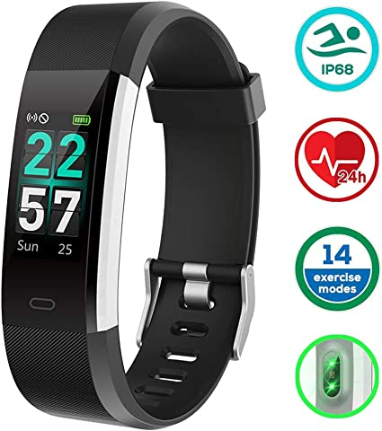 Montre Connectée, Podometre Bracelet Etanche IP68 Fitness