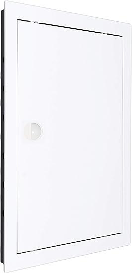 pl/ástico ABS de alta calidad en color blanco Puerta de inspecci/ón compuerta de revisi/ón