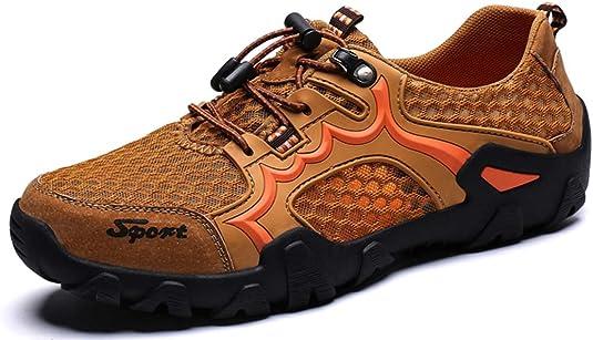 CAGAYA Zapatillas de Senderismo Hombre Mujer Transpirables Casual Aire Libre y Deporte Antideslizante Zapatillas Trekking: Amazon.es: Zapatos y complementos