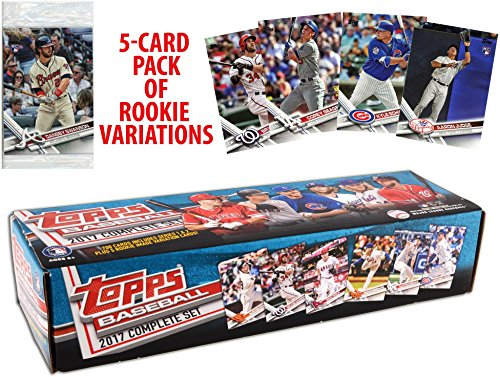 Image of the 2017 Topps Baseball Complete Retail Factory Set (705 Cards) with 2 Aaron Judge Rookies