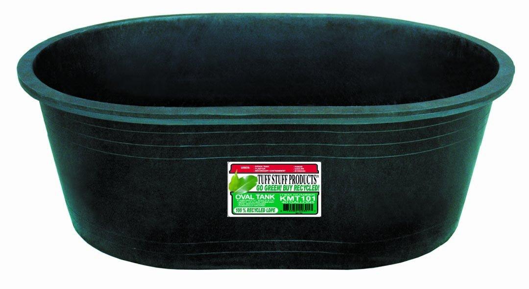 Tuff Stuff Products KMT101 Oval Tank, 40-Gallon