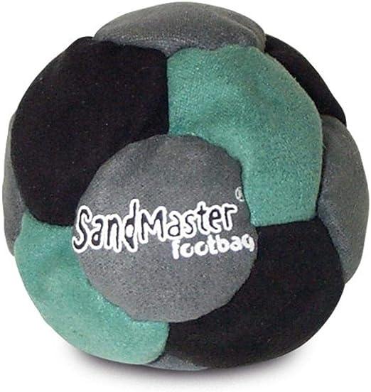 Amazon.com: World Footbag SandMaster Hacky Sack Footbag, Green/Grey/Black: Sports & Outdoors