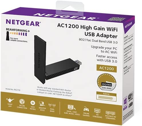 Netgear A6210 100pes Network Adapter Computers Accessories
