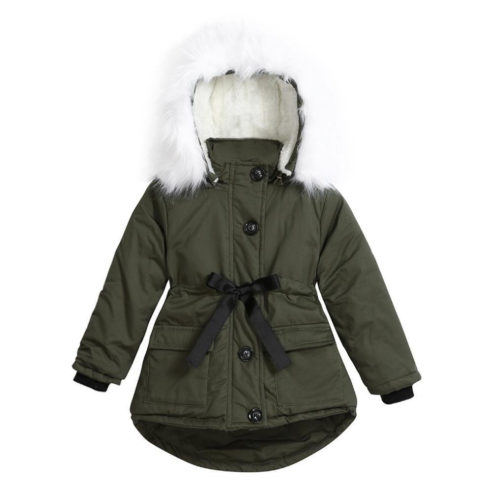 BURFLY Kids Girls Long Coat Jacket 2f55f670c