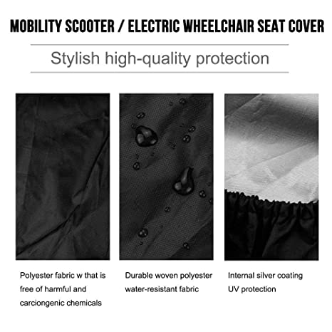 Amazon.com: Funda de asiento para scooter AOLVO 210D Oxford ...