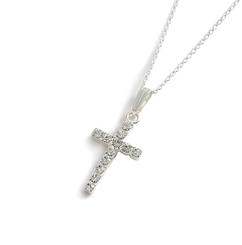 80365676ff4 Colgantes de cruces de cristales de Swarovski - invitaciones para Comunión  de regalos de - el regalo de bautizo - Christian de regalos de  LJ Designs  and ...
