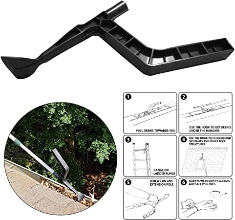 Amazon Com Lovfashion The Gutter Tool Scoop Behind Skylights Roof Cleaning For Hole Home Garden Good Garden Outdoor