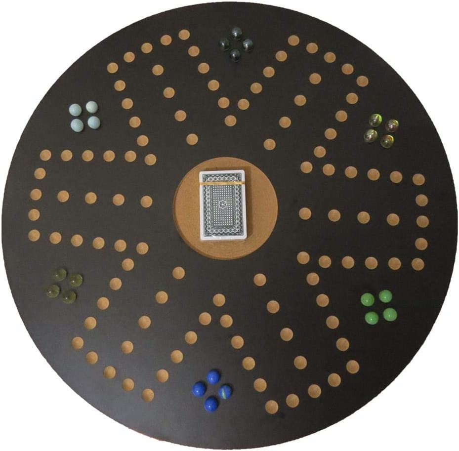UAE++ Jackaroo for 6 players Black Circle shape board