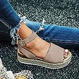 GDDD Women's Platform Sandals Casual Espadrilles