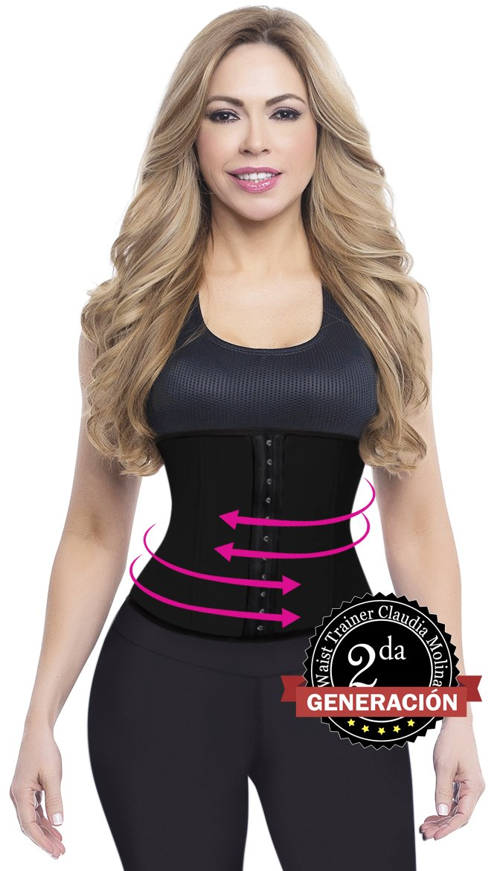 Claudia Molina Cinturilla Moldeadora Waist Trainer 9000BL (2XL) by Claudia Molina