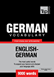 German Vocabulary for English Speakers - 9000 words (T&P Books)