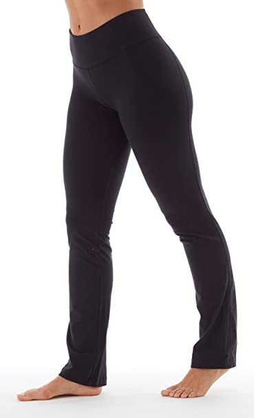 3098b4f2cce67 Amazon.com : Bally Total Fitness Womens High Rise Tummy Control Pant :  Clothing