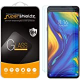 (2 Pack) Supershieldz for Xiaomi Mi Mix 3 Tempered Glass Screen Protector, Anti Scratch, Bubble Free