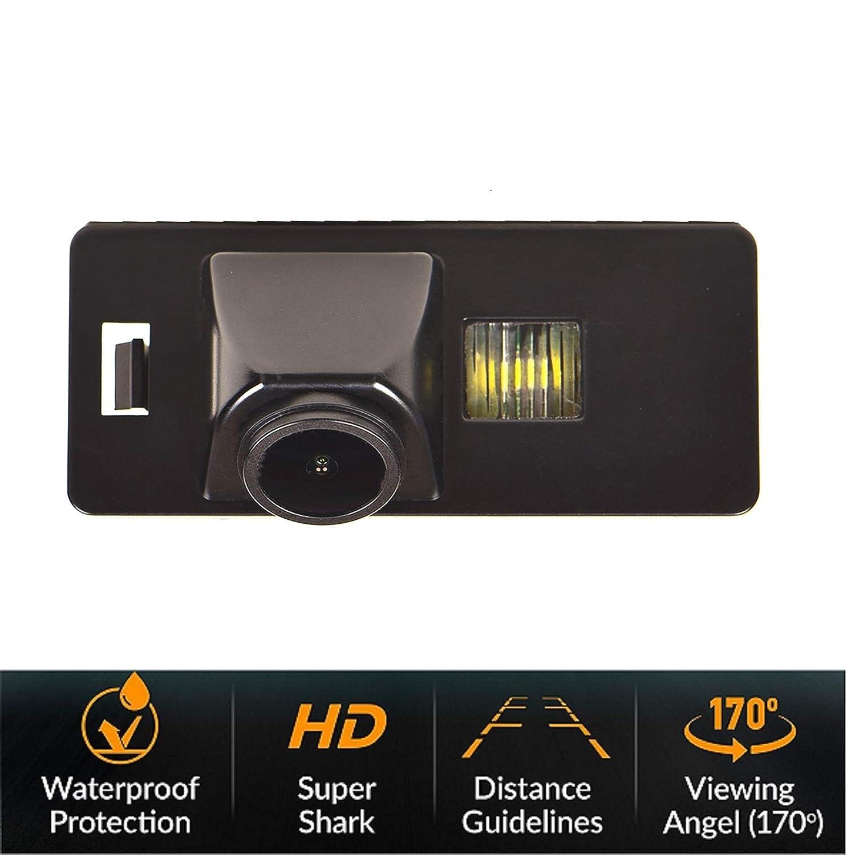HD Revertir Asistencia de Copia de Seguridad de la C/ámara de Aparcamiento C/ámaras de visi/ón trasera IP68 para Audi A1 A3 8P S3 A4 B6 B8 S4 A6 C6 S6 RS6 A8 RS4 TT 8N Q5 Q3 Q7