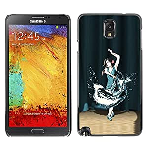 LECELL -- Funda protectora / Cubierta / Piel For Samsung Galaxy Note 3 N9000 N9002 N9005 -- Dance In the Spotlight --