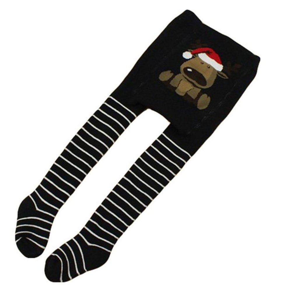 Vine Collant per bambine e ragazze Natale Inverno addensare Archivio Legging Pants(Blu/86-92cm) Vine Trading Co. Ltd E160905KW02008V
