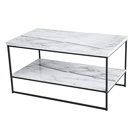 Marble Coffee Table With Storage 1