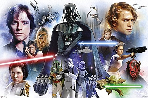 Star Wars Anthology - Episode I, II, III, IV, V & VI - Movie