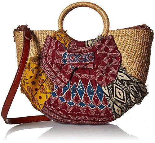 Sam Edelman Jaelynn Convertible Top Handle Bag, aztec multi