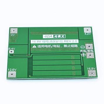40A 4S Li-Ion Cargador de batería de Litio 18650 PCB Junta de ...