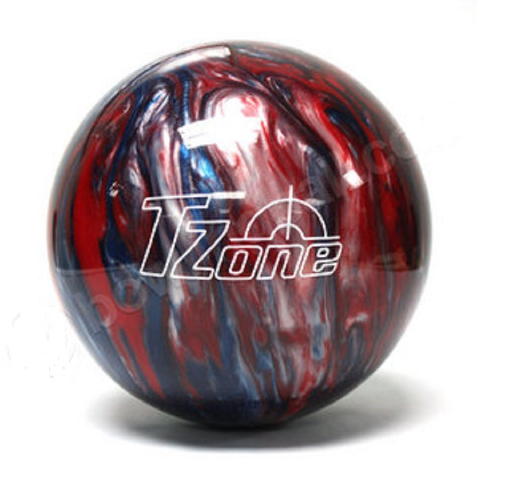 Brunswick TZone Patriot Blaze - Bola de bolos, color azul, talla DE: 11s lb 60105300931