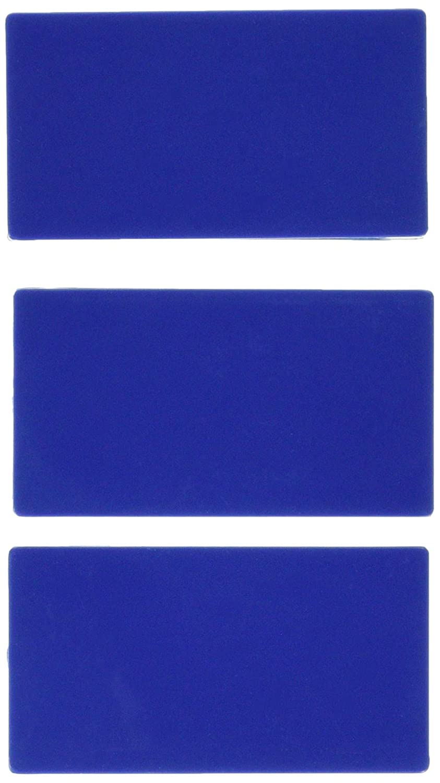 confezione da 3 Traxx 7//9013//3/pad di ricambio blu