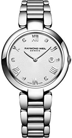 6ae2e2328ff3 Image Unavailable. Image not available for. Color  Raymond Weil Women s  Shine Swiss-Quartz Watch with Stainless-Steel Strap