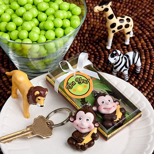 <em>Jungle Critters Collection</em> keychain favors, 1