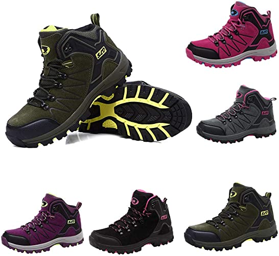 High-Traction Grip Boots for Men Wide Width,Mens Military Motorcycle Combat Boots Waterproof Hiking Boot Breathable