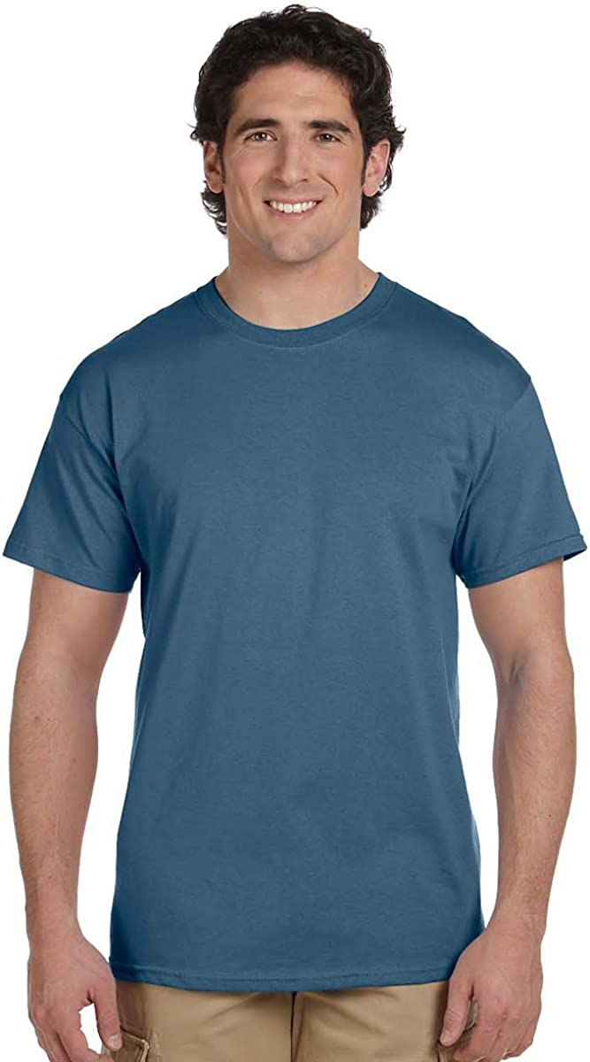 Hanes Mens ComfortBlend EcoSmart 50/50 Cotton/Poly T-Shirt