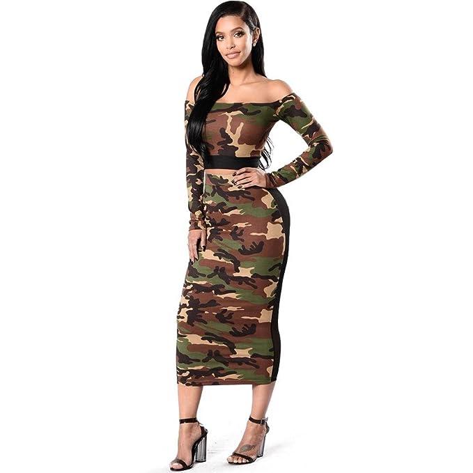 07d2af42faa2 Kiwi Abbigliamento Donna a Due Pezzi Senza Camicie Senza Maniche in Jeans  Europee e Americane a Maniche Lunghe: Amazon.it: Abbigliamento