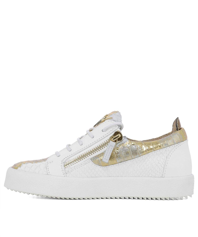 Giuseppe Zanotti Design Femme RW70001051 Blanc - Cuir Baskets - B07GC4Q2BY - Blanc Chaussures de sport d68235